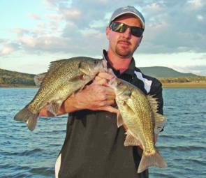 Good numbers of bass can be expected across the flats and close to the drop-offs in Moogerah this month.