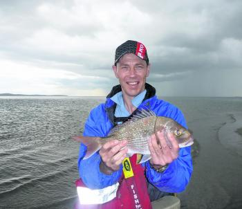 The variety of fish caught on the flats improves with discoloured water and spring tides.