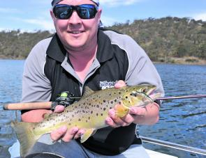 Spring is also prime trout fishing time, wherever these great fish are found.