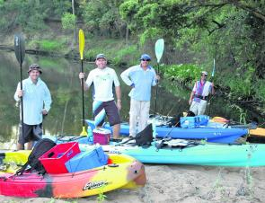 The Burnett freshwater reaches will be a prime location for kayak adventures in the next few years.