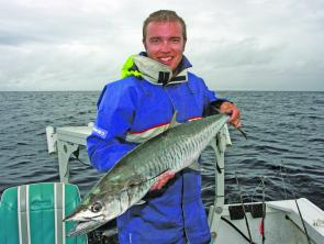 Spanish mackerel will be cruising the reefs in the coming month.