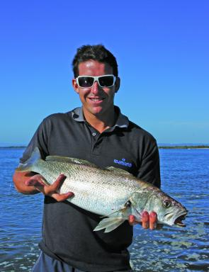 Jewfish will be one of the main targets in the estuaries in April.