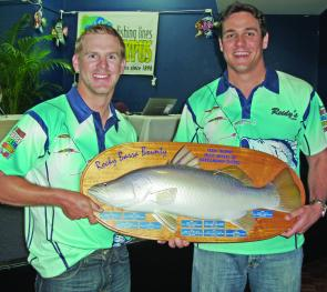 Team Boof Brothers, Daniel Powell and Steve Lill, take out the Champion Team on Lures title.