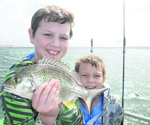 Bream are in good numbers in Botany Bay.