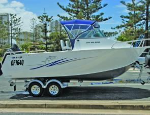 Big and bold, the Stessl Seahawk is a lot of boat for the money.