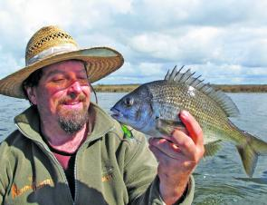 The lower Nicholson River has been a top location for lure caught bream.