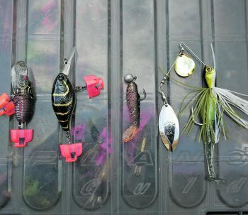 Keeping using the same 4-5 lures – they're all you need.