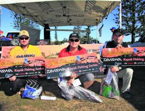 Dennis Metzdorf, Nick Meredith and Richard Somerton all claimed a podium finish at the Tweed.