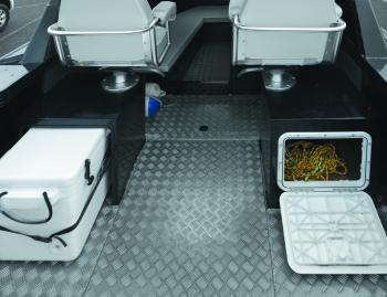 Of course there's storage in all available areas – including under all of the seats.