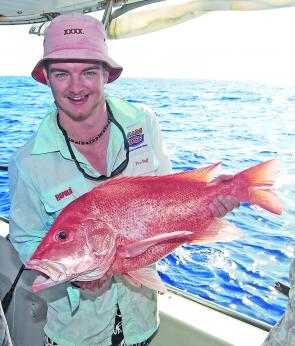 Fishing with Reefari Charters over their 'Chaos' mark produced a dozen of these colourful captures.