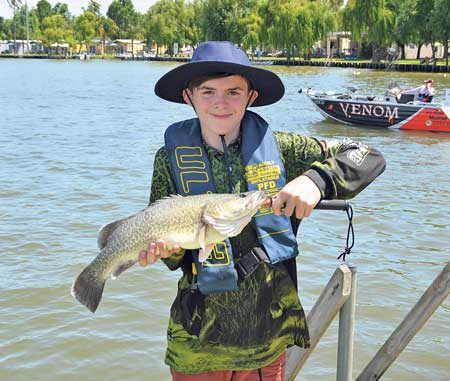 Beautiful cod caught by one of the junior competitors in the event.