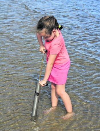Fishing with kids is a memory that will last forever, however, you can always kick the session with some bait collecting too.