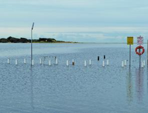 The main jetty at number two boat ramp in Lake Tyers.