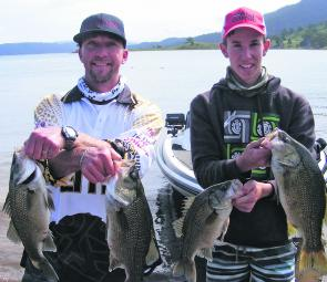 A total bag of 10.98kg secured the win for Troy Danes and Ryan Jones of Team Asakura/Abu Garcia.