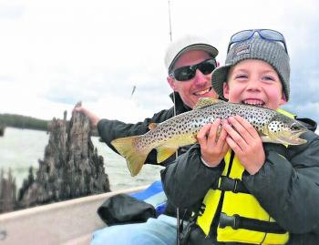 Make sure you pick your spot wisely when fishing with kids. It can make or break the day.