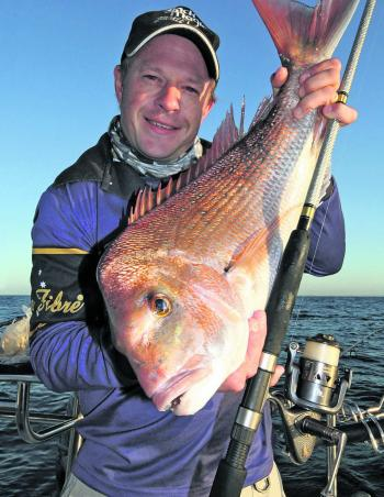 Snapper are mostly targeted in the Mount Martha and Rye areas as well as in Bass Strait.