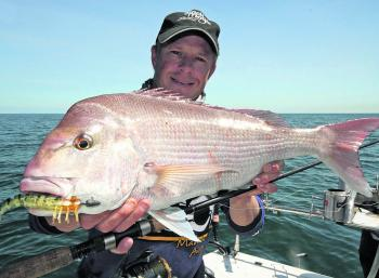 For something different, lure fishing for snapper is a lot of fun.