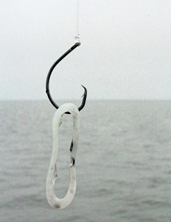 When baiting for snapper, gummy sharks, and whiting, circle hooks are best offered for their ease of hook setting.