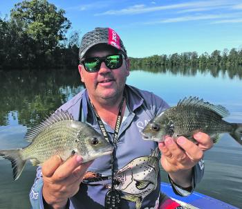 Sometimes sounding out deeper holes away from the usual will get you onto some good bream.