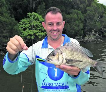 With dirty water from recent rains, the bright coloured Asakura lures came into their own.