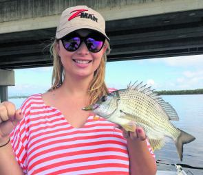 Jess Dixon had a fun day out chasing some good bream.