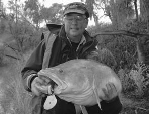 The Martin brothers, Mick and Patto, travelled all the way from Canberra to score a pigeon pair of metre-plus cod on the cast. Was it worth the drive? You bet!