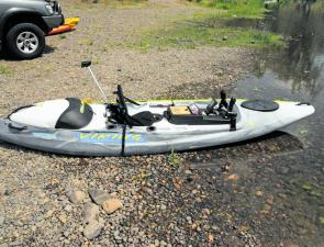 Viking's Profish GT is a kayak designed for anglers.