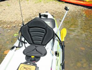 The Profish GT comes standard with a deluxe fisher's seat.