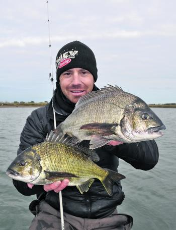 Either side of high tide is widely considered the optimum time to target bream year round and winter is no exception.