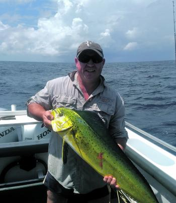 There have been been plenty of mahimahi around.