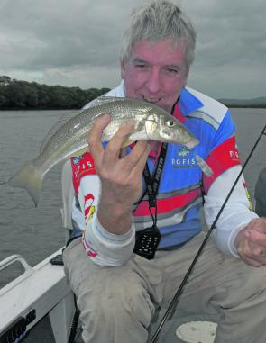 The best areas to work for whiting are any shallow flats where there is soft sand and plenty of yabby and worm holes.