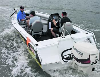 The Cross Fire is a great option for boaties who are after a serious fishing boat that is equally capable of a fun family day out enjoying water sports.