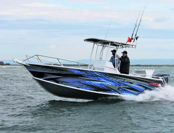 We put the 679 Sea Ranger through its paces on the Jumpinpin Bar and it performed beautifully.