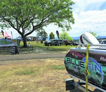 Fantastic prizes were on offer from the sponsors of the event – Evinrude, Bluefin, and Austackle.