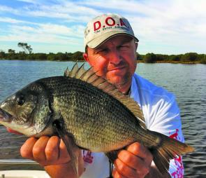 Bream should continue to fish well as the rivers are rich with nutrients after the massive amount of fresh that has flowed through the system.