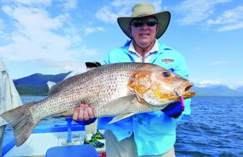 Some really big golden snapper are around this month and in January.