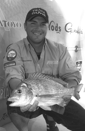 Glenn Helmers landed the Go-So Big Bream for the event, a fantastic 1.46kg fish.