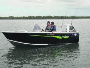 The sleek design means the Clark 510 Dominator stands out on the water
