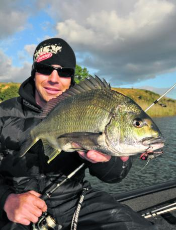Melbourne anglers face some obvious challenges in terms of battling the elements throughout the winter months, but the fish still need to eat.