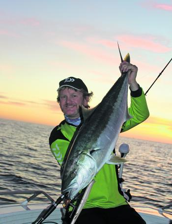 February is prime kingfish time in the South West.