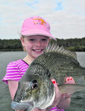 Rebecca Bates used a lightly weighted nipper to deceive this lovely bream.