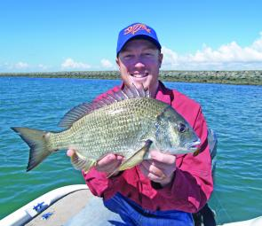 Some big bream will be around any structure in the Brisbane River now. Be aware of access restrictions and go catch yourself a few.