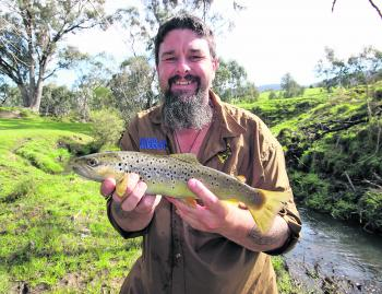 Spring 2015 has seen the best trout fishing across the region for several years. Hopefully there's still enough water around in December to keep them on the bite.