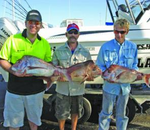 Snapper stocks seem to have improved this year with good numbers of the fish in our waters.