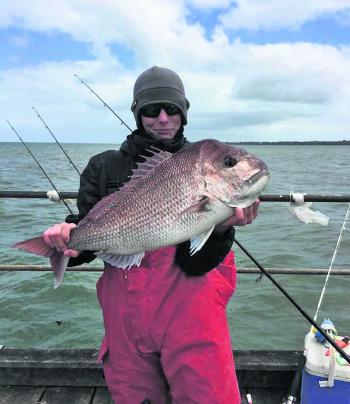 Luke Goldstein from Compleat Angler Rosebud had an amazing session through the windy part of the season. A 6.5kg red from a pier is a fantastic catch!