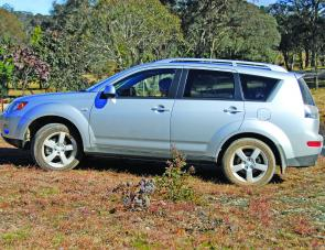 The VRX Outlander enjoys a sporty image, plus has the ability to go off road in reasonable conditions.