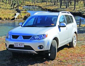 The V6 Outlander VRX is a very classy motor vehicle with a degree of refinement.