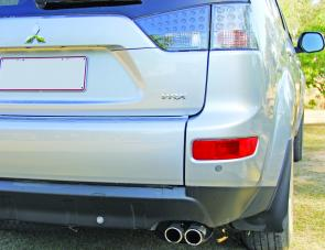 Along with the VRX badge on the tailgate, buyers will also see fat chromed exhaust pipes.