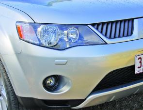 The VRX Outlander's self-levelling HID lights are a great feature of this well-appointed motor vehicle.