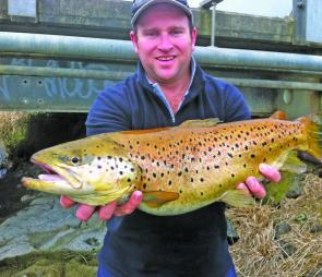 A 58cm brown taken from the lower Merri River.